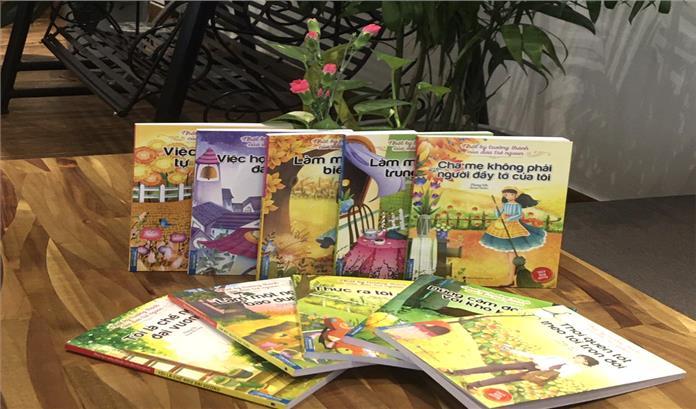 Bộ Nhật ký trưởng thành của đứa trẻ ngoan bản quyền được Nhà xuất bản Dân Trí và Nhà sách Minh Thắng liên kết xuất bản