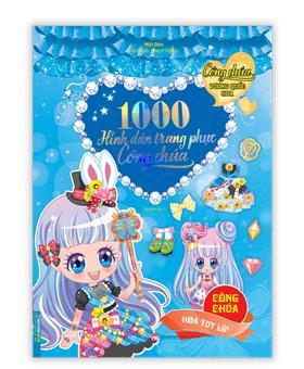 1000 hình dán trang phục công chúa - Công chúa hoa tuy líp - tái bản 01