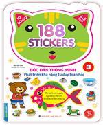 Bóc dán hình thông minh phát triển khả năng tư duy toán học IQ EQ CQ (4-5 tuổi) - 188 sticker (quyển 3)