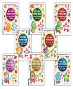 Combo Bóc dán thông minh vừa học vừa chơi 2-6 tuổi  (sách bản quyền) 8 cuốn