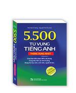 5500 từ vựng tiếng Anh thông dụng nhất (bản màu) - tái bản