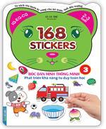 Bóc dán hình thông minh phát triển khả năng tư duy toán học - 168 sticker (quyển 3)