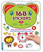 Bóc dán hình thông minh phát triển khả năng tư duy toán học - 168 sticker (quyển 6)
