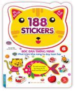 Bóc dán hình thông minh phát triển khả năng tư duy toán học IQ EQ CQ (4-5 tuổi) - 188 sticker (quyển 6)
