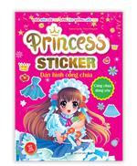 Princess sticker - Dán hình công chúa - Công chúa đáng yêu