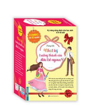 Combo bộ 10 cuốn - Nhật ký trưởng thành của đứa trẻ ngoan (hộp)
