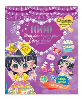 1000 hình dán trang phục công chúa - Công chúa hoa Bìm Bìm