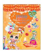 1000 hình dán trang phục công chúa - Công chúa hoa lan hồ điệp