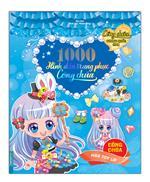 1000 hình dán trang phục công chúa - Công chúa hoa tuy líp