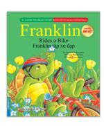 Bộ truyện về chú rùa nhỏ Franklin - Franklin tập xe đạp (song ngữ Anh-Việt)(sách bản quyền)