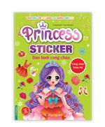 Princess sticker - Dán hình công chúa - Công chúa hoàn mỹ
