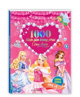 1000 hình dán trang phục công chúa - Công chúa hoa lệ