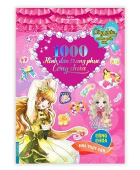 Công chúa vương quốc hoa - 1000 hình dán trang phục công chúa - Công chúa hoa thủy tiên