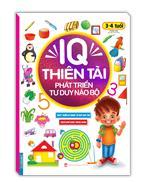 IQ thiên tài phát triển tư duy não bộ 3 - 4 tuổi