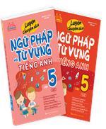 Combo Luyện chuyên sâu ngữ pháp và từ vựng tiếng anh lớp 5 (2 cuốn)
