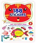 Bóc dán hình thông minh phát triển khả năng tư duy toán học IQ EQ CQ (4-5 tuổi) - 188 sticker (quyển 2)