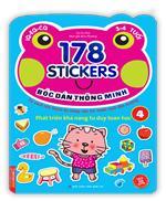 Bóc dán hình thông minh phát triển khả năng tư duy toán học IQ EQ CQ (3-4 tuổi) - 178 sticker (quyển 4)