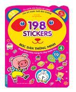 Bóc dán hình thông minh phát triển khả năng tư duy toán học IQ EQ CQ (5-6 tuổi) - 198 sticker (quyển 4)