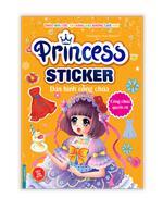 Princess sticker - Dán hình công chúa - Công chúa quyến rũ
