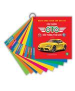 Bách khoa toàn thư cho bé - Các hãng ô tô nổi tiếng thế giới (bìa mềm)