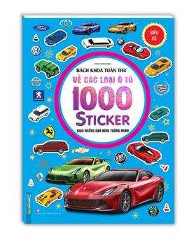 Bách khoa toàn thư về các loại ô tô - 1000 miếng dán hình thông minh - Siêu xe