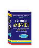 Từ điển Anh - Việt trên 145.000 mục từ và định nghĩa (bìa mềm) - tái bản
