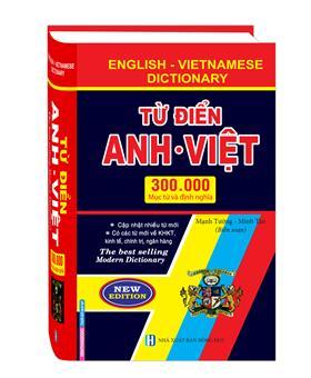 Từ điển Anh Việt 300000 Mục từ và định nghĩa (bìa cứng)