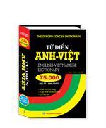 Từ điển Anh Việt 75000 mục từ và định nghĩa (bìa cứng)(tái bản)