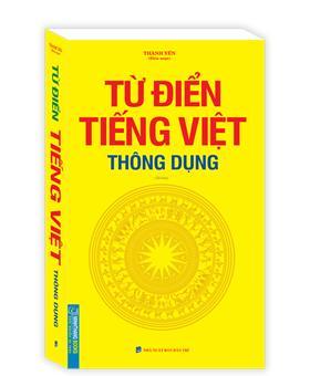 Từ điển tiếng Việt thông dụng (bìa mềm)-tái bản khổ to