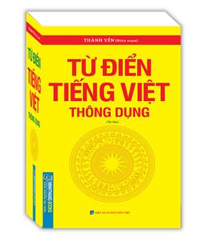 Từ điển tiếng Việt thông dụng (bìa mềm)-tái bản khổ nhỏ