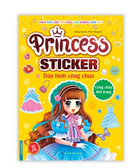Princess sticker - Dán hình công chúa - Công chúa thời trang
