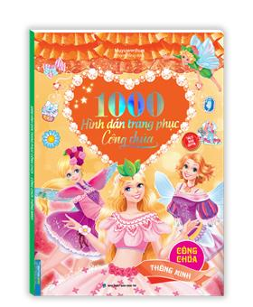 1000 hình dán trang phục công chúa - Công chúa thông minh