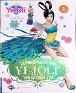 Dán hình trang phục YELOLI - Tiên nữ khổng tước (Sách bản quyền)