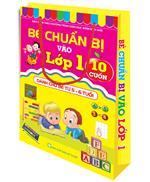 Túi Bé chuẩn bị vào lớp 1 ( 10 cuốn ) ( Dành cho bé 5-6 tuổi)
