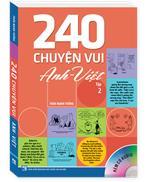 240 chuyện vui Anh Việt Tập 2 ( Sách màu kèm CD )
