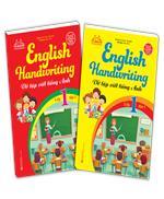 Combo English Handwriting - Vở tập viết tiếng anh lớp 1(2 cuốn)