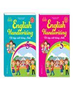 Combo English Handwriting - Vở tập viết tiếng anh lớp 5 (2 cuốn)