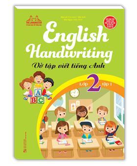 English Handwriting - Vở tập viết tiếng anh lớp 2 tập 1