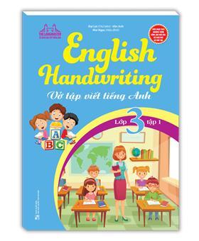 English Handwriting - Vở tập viết tiếng anh lớp 3 tập 1