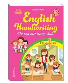 English Handwriting - Vở tập viết tiếng anh lớp 4 tập 1