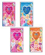 Combo Công chúa vương quốc hoa - 1000 hình dán trang phục công chúa ( 4 cuốn : Hoa Lệ; Vui Vẻ:Hoàn Mỹ:Thông Minh)