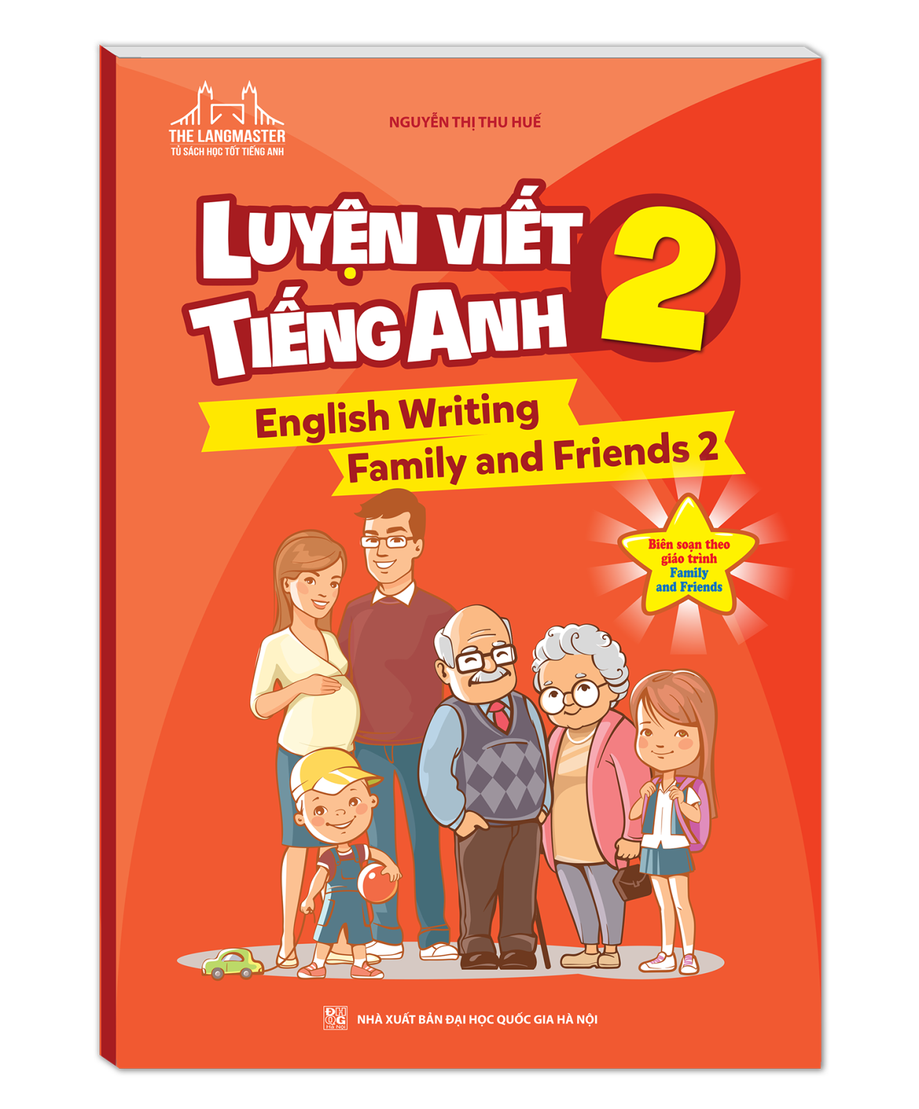 The langmaster - Luyện viết tiếng Anh 2 (English Writing Family and Friends 2)